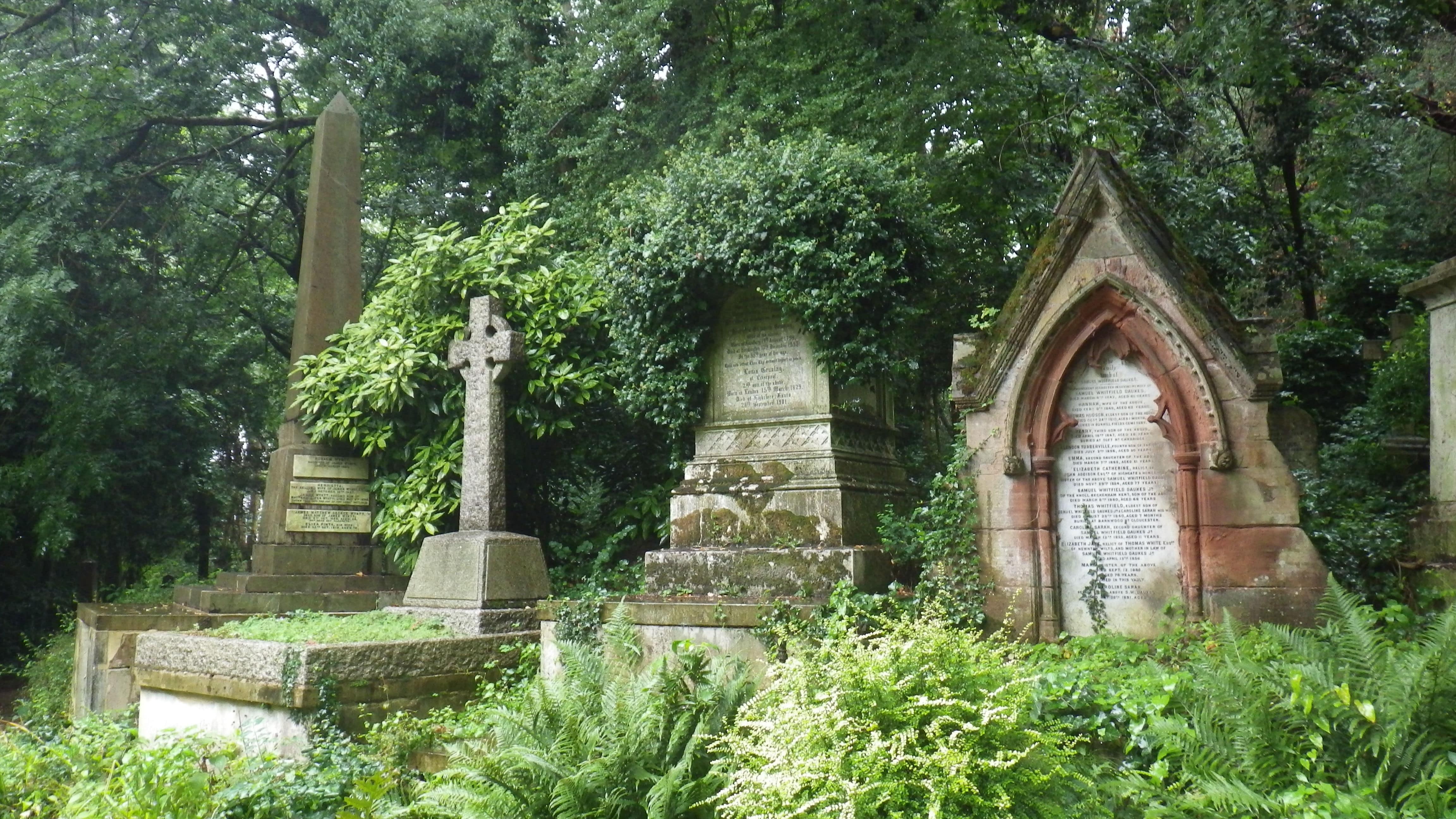 Londres : le cimetière de Highgate