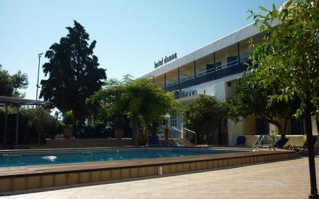 Egine (Grèce) : l'hôtel Danae